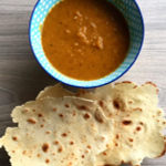 gluten free low fodmap roated butternut squash and ginger soup