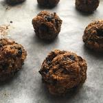 Gluten and dairy free vegetarian meatballs