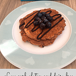 Easy low carb gluten and dairy free protein pancakes