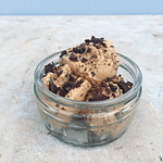 bowl of cookie dough