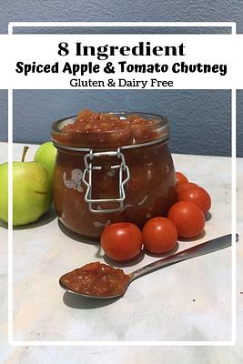 Spiced Apple and Tomato Chutney (GF, DF, SF)