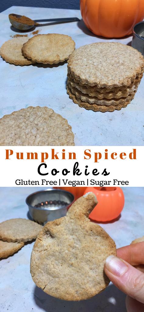 pumpkin pie cookies pinterest image