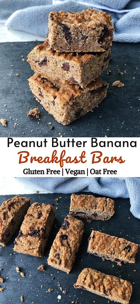 duo peanut butter banana Breakfast bars picture pinterest