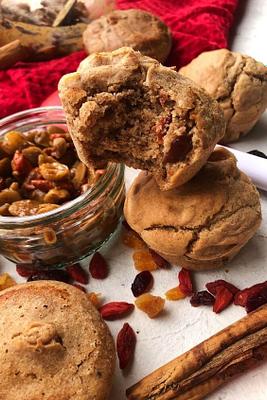 Mincemeat Muffins (Gluten Free, Dairy Free)