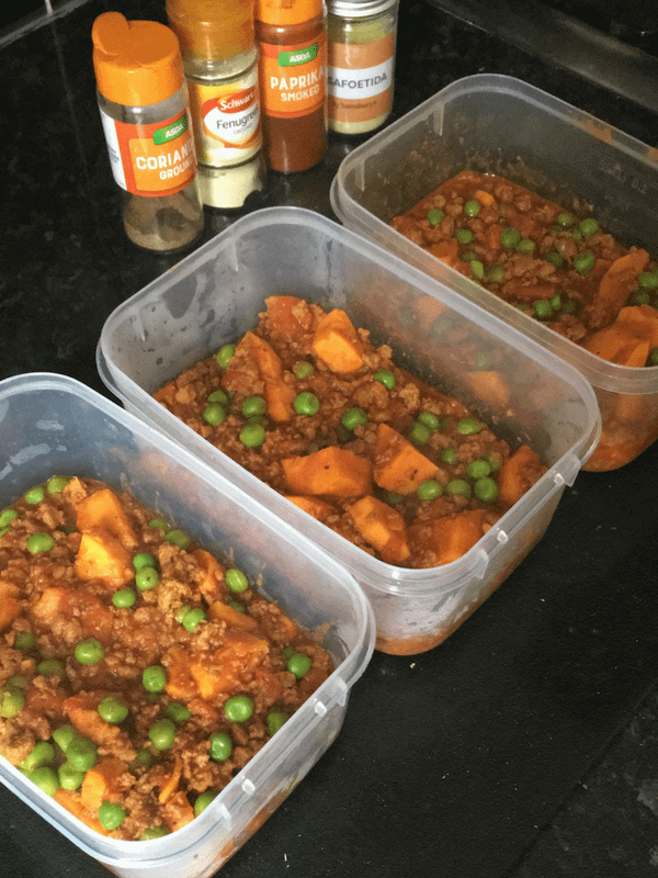 Meat free chilli with sweet potato (GF,DF,V)