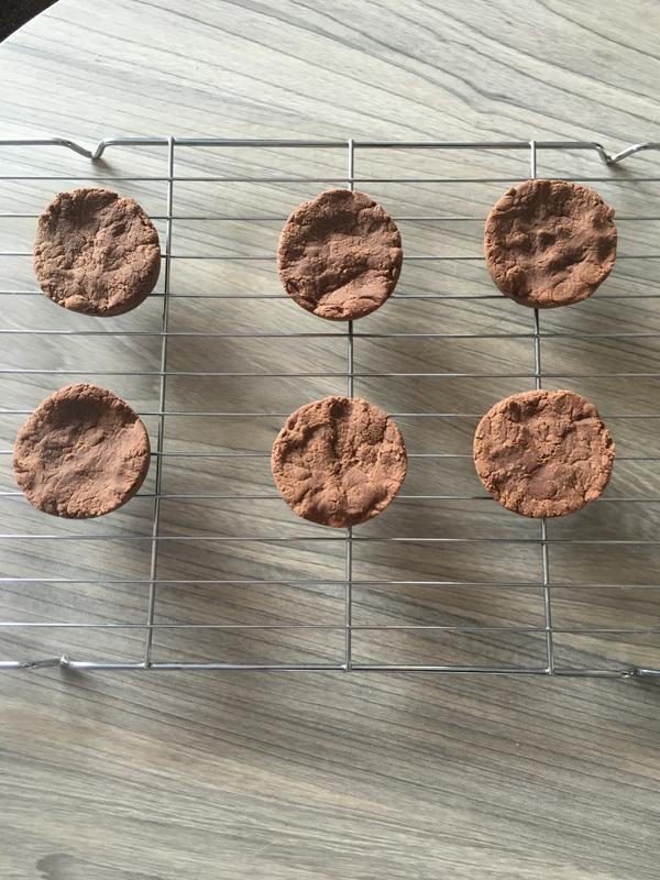 Chocolate peanut protein cups (GF,DF)