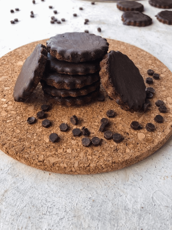 stack of thin mints