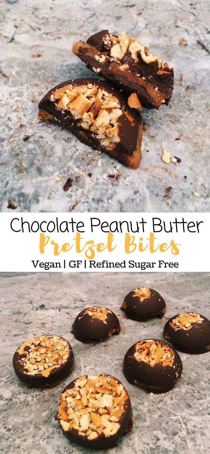 Chocolate Peanut Butter Pretzel Bites
