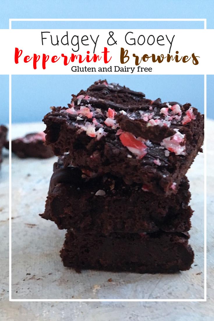 Peppermint Brownies (GF, DF)