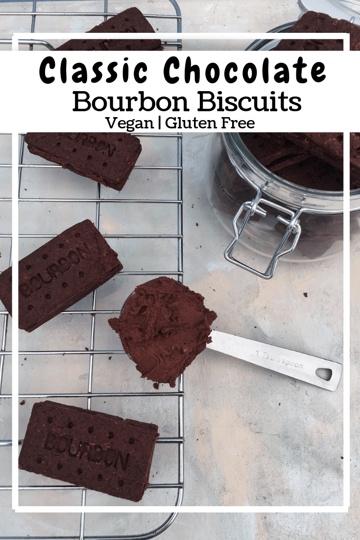 Chocolate Bourbon Biscuits (GF, VG)