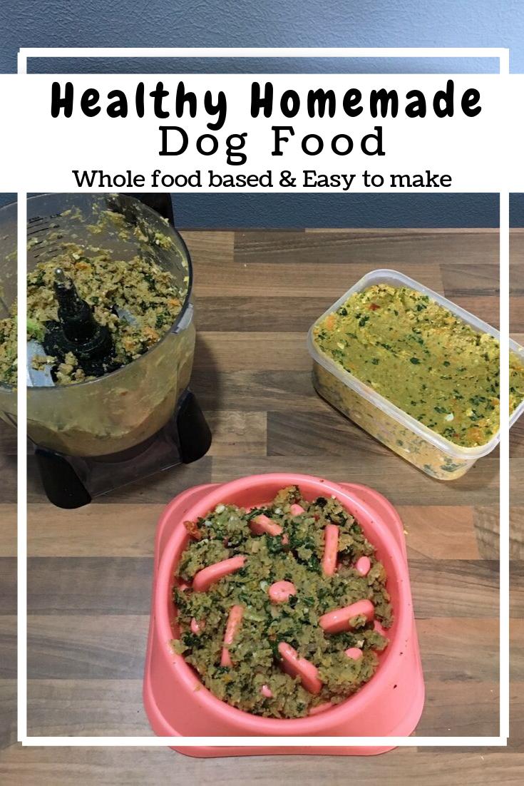 Healthy and Easy Homemade Dog Food (GF, DF)