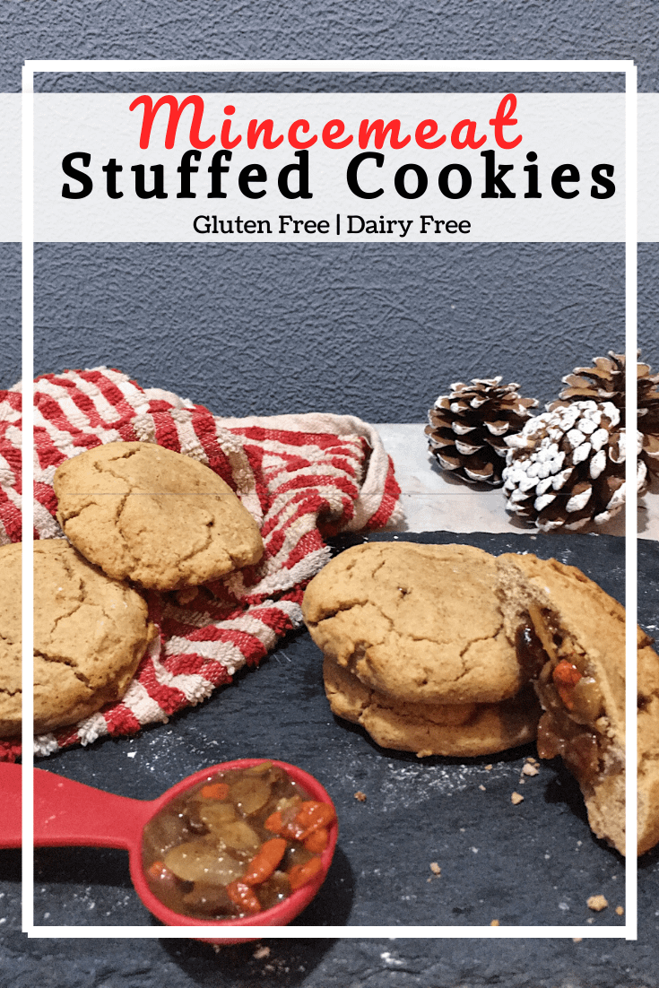 Mincemeat Stuffed Cookies (GF, DF)