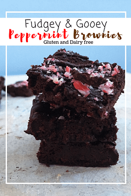 Peppermint Brownies (GF, DF)