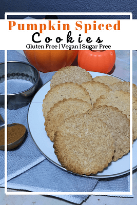Pumpkin Spiced Cookies (GF, SF, VG)