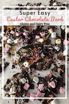 Easter Chocolate Bark (GF, DF)